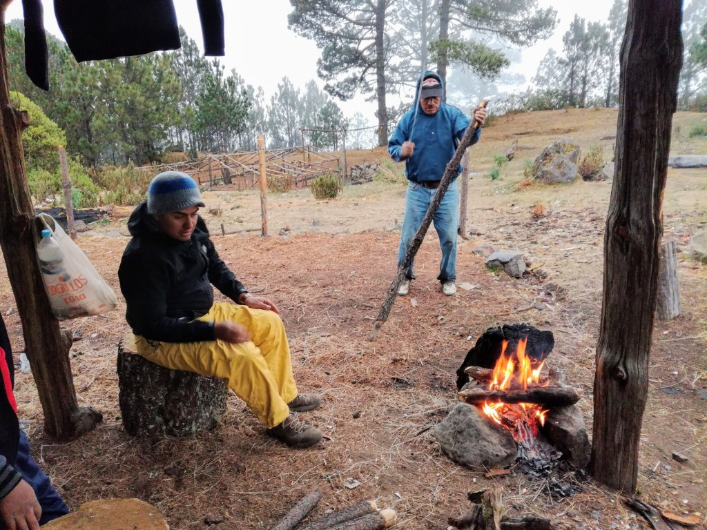 cana, bivouac au Plan de los Ardillas (Photo FC)
