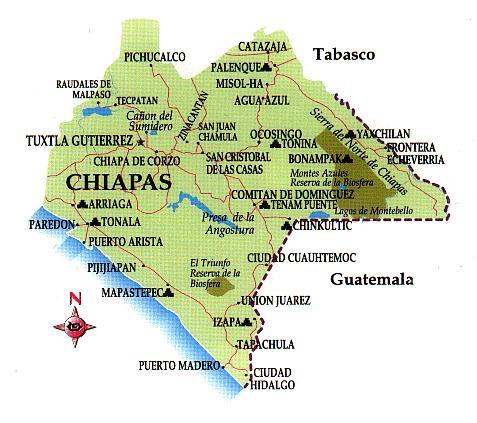 Tacana mapa-chiapas