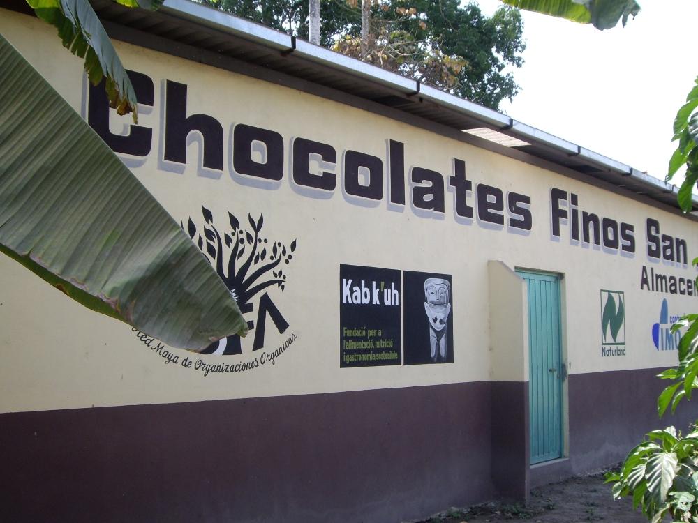 La célèbre Chocolates San José Finos San José fondée en 2002 est la première usine du chocolat du Chiapas. Elle achète son cacao auprès des planteurs de Mazatán, Tapachula, Villa Comaltitlán (Photo FC)
