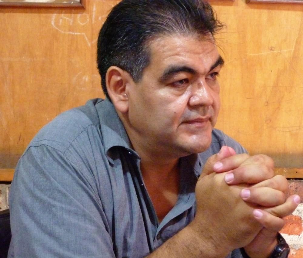 Jorge Aguilar Reyna président de CASFA (Centro de Agroecología San Francisco de Asís) à Tapachula. Son objectif est au cours des 10 prochaines années, de récupérer au moins 10 000 ha actuellement consacrés à l'élevage du bétail et à l'agriculture intensive afin de planter du cacao criollo Photo FC
