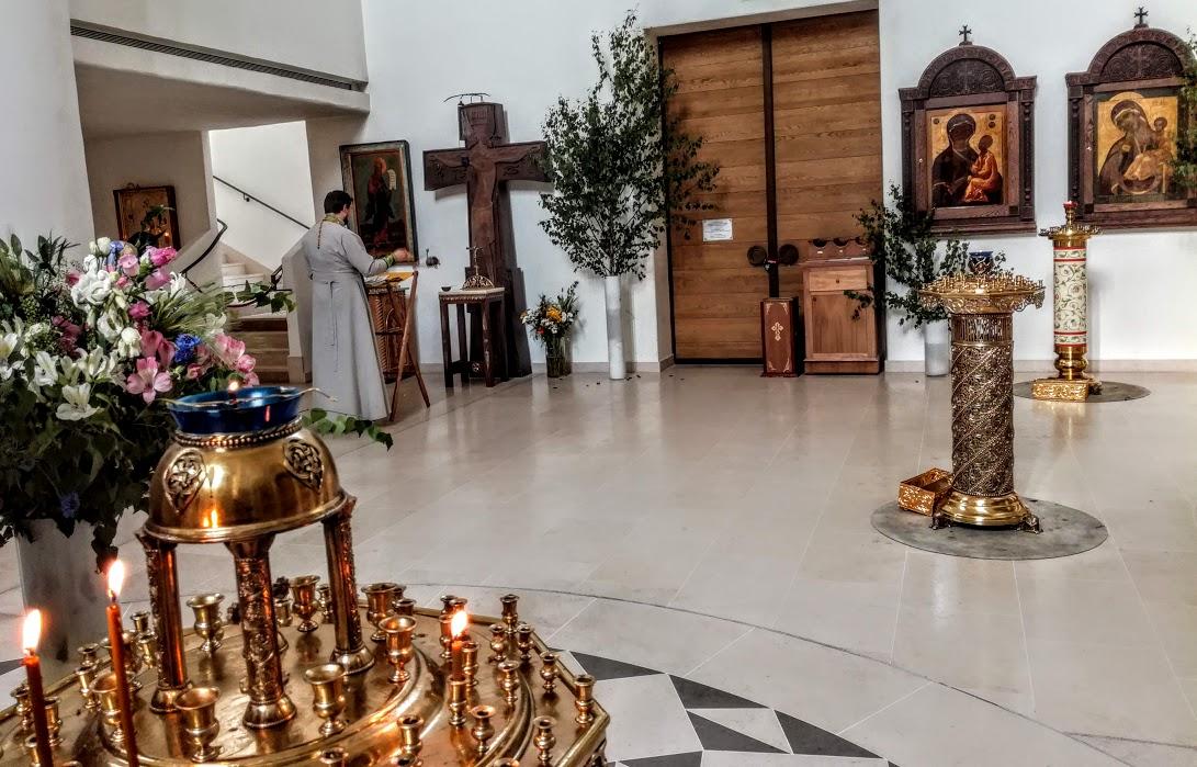 L'intérieur de la cathédrale orthodoxe russe de la Sainte-Trinité (Photo FC)