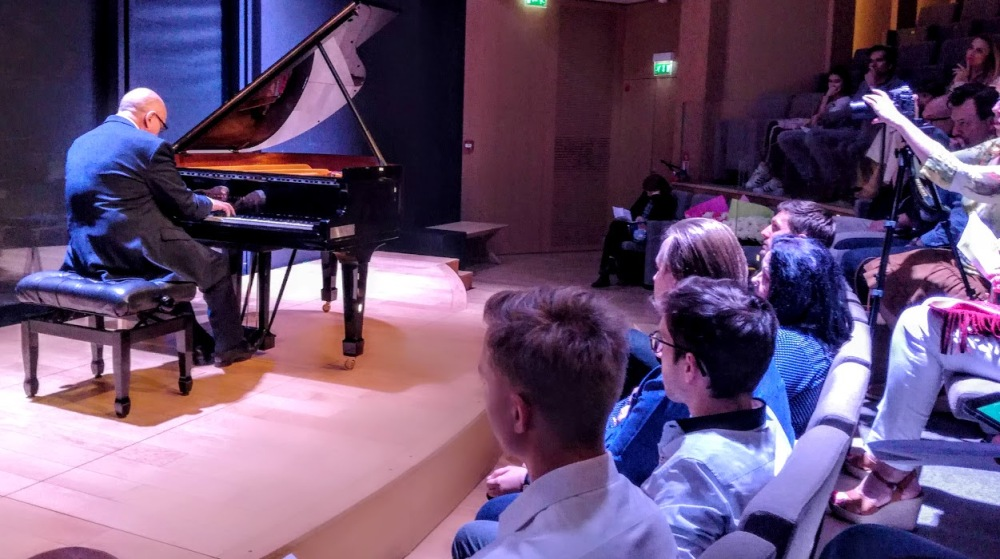 Le grand pianiste Yakov Ayvaz donnait un concert des chefs-d'oeuvre du piano russes en juin 2018 (Photo FC)