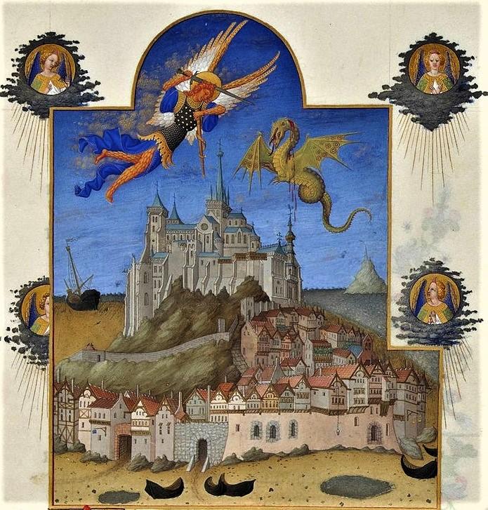Mont-Saint-Michel Scriptorial Avranches, musee manuscrits Mont SaintMichel