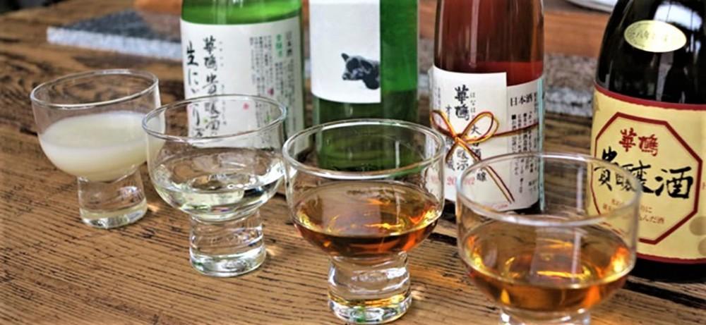 Il existe toute sorte de saké, ici à déguster au bar à saké (sakebar) Koishi, situé au centre-ville d'Hiroshima. Photo DR