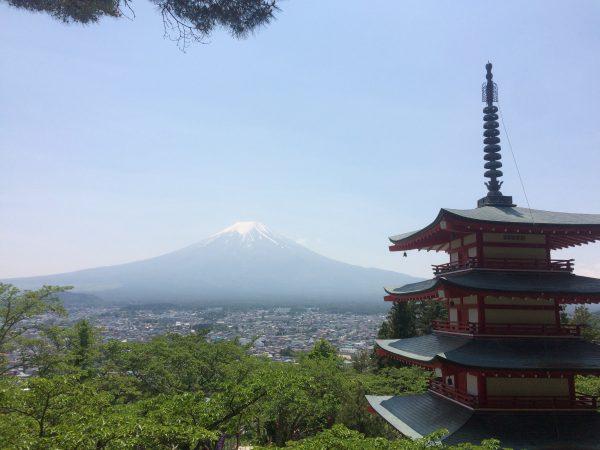 Le mont Fuji est l'un des patrimoines culturels les plus célèbres du Japon. Depuis le XVIIIe siècle, Fujisan est assoupi. Seul le sol volcanique rappelle que tout en haut se trouve un cratère. Arbres et arbustes ont repoussé. Les neiges éternelles y sont encore jusqu'à la prochaine éruption ou jusqu'à un changement climatique. Le mythe existe. Au pays du Soleil Levant, la vue de l'aurore provoquerait l'extase au sommet du Mont Fuji (à 3741 m).