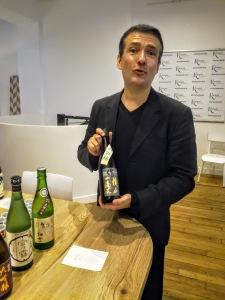 Sylvain Huet, fondateur et organisateur du Salon du Saké