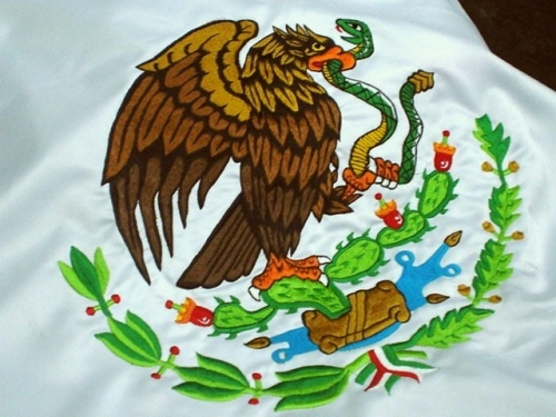 Nopal emblem of Mexico