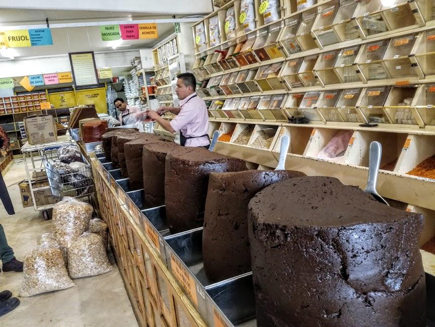 San Pedro Atocpan (délégation de Milpa Alta) est aussi connue pour être la capitale du mole, sorte de sauces allant du rouge foncé au brun servies sur de la viande. Elles se déclinent en plusieurs saveurs (Photo FC)