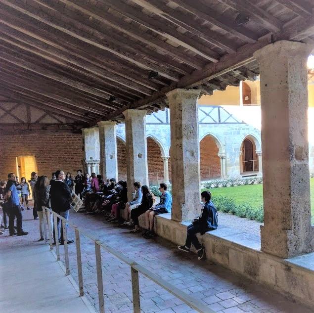 Cloître de l'abbaye de Flaran (Photo FC)