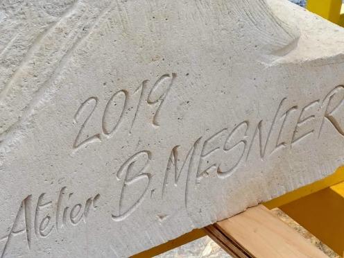 Val de Grâce signature des ateliers de sculpture (Photo FC)
