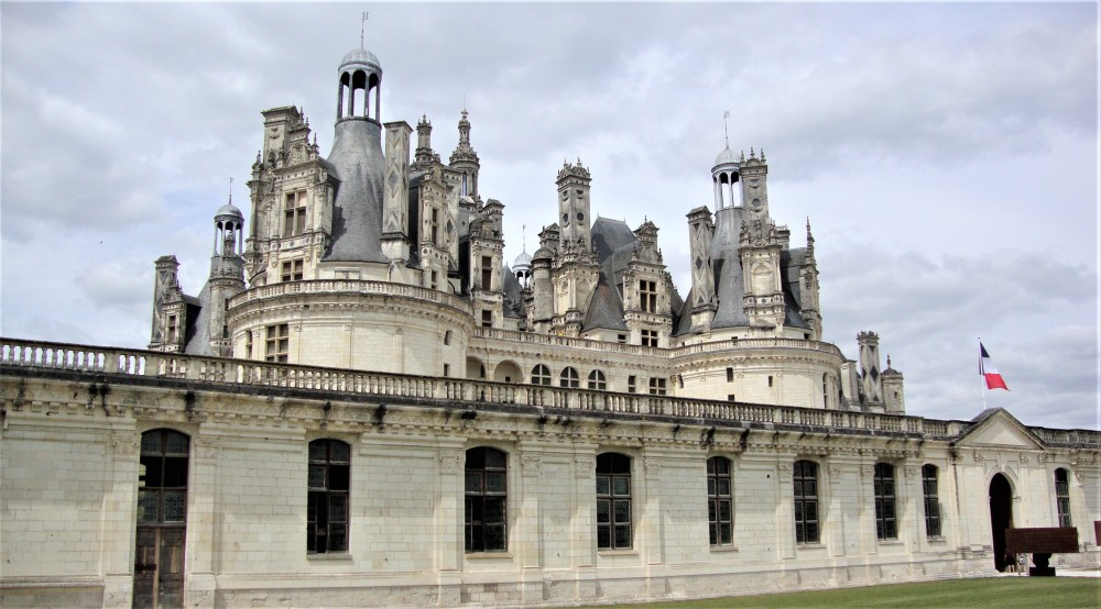 The dimensions of Château de Chambord are impressive – the castle is 156 m long and up to 56 m tall (Photo FC)