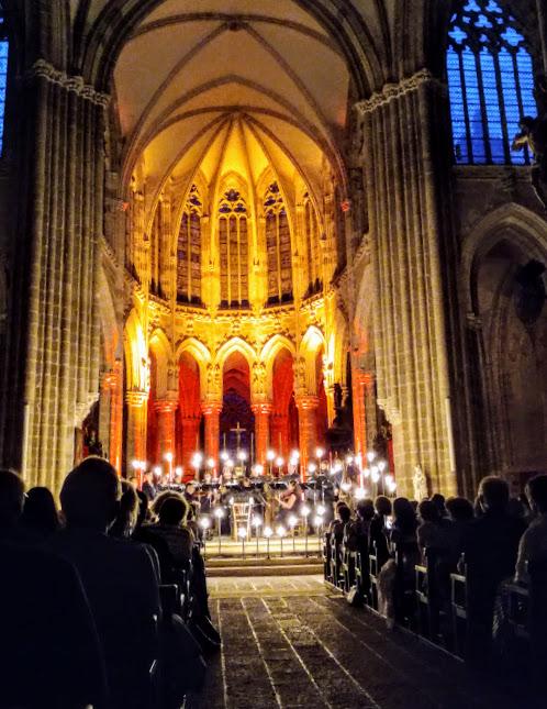 Mayenne basilique Evron choeur festival d'art sacré (Photo FC)