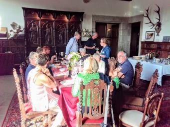 Mayenne dîner au château de Bourgon (Photo FC)