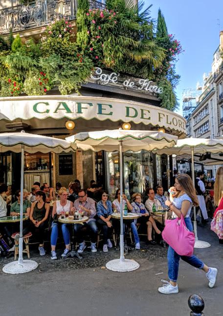 Café de Flore, the place to be (Photo FC)