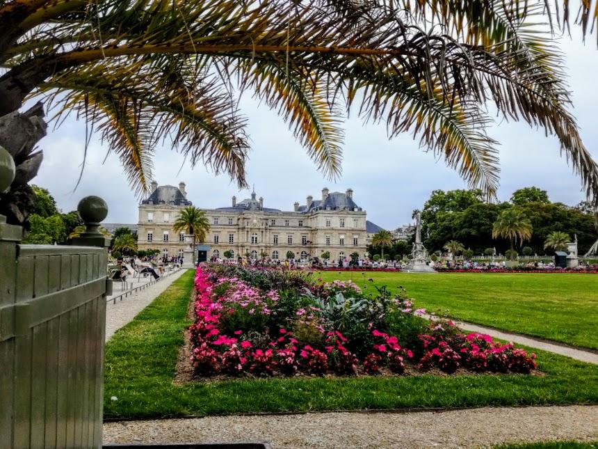 Le jardin du Luxembourg, un jardin de 25 ha entre le quartier latin et Montparnasse (Photo FC)