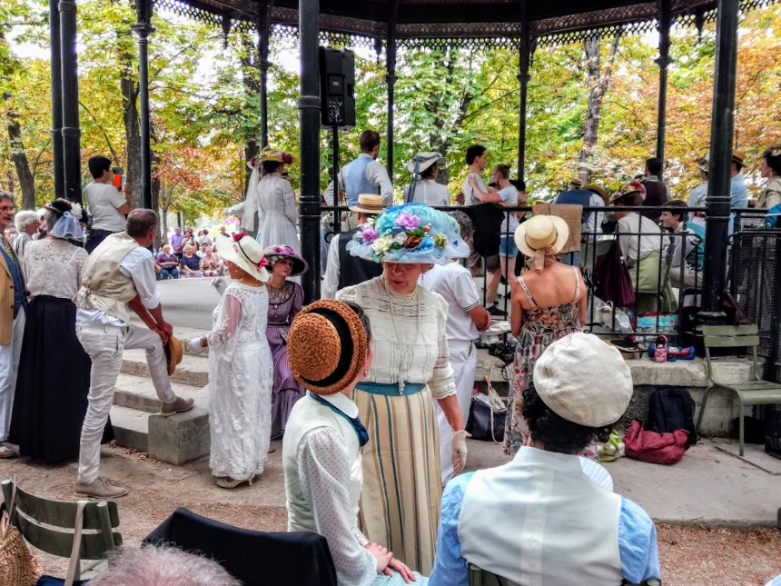 No doubt, it's the Luxembourg garden, the first Sunday of August 2019 (Photo FC)