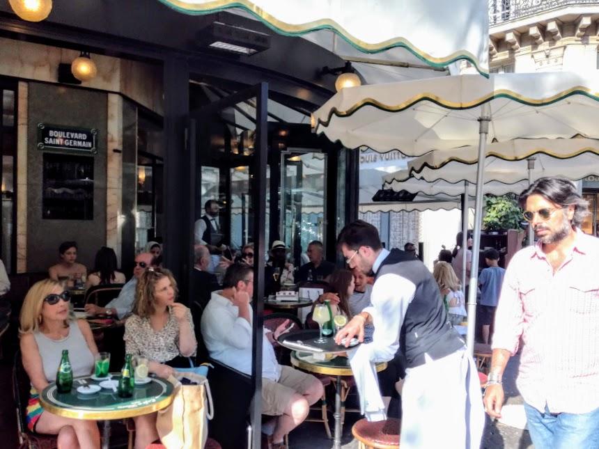 Paris summer times Le Flore 1 (Photo FC)