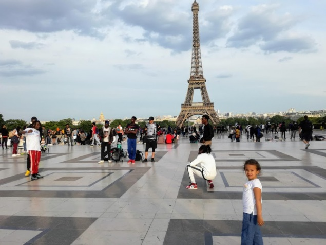Paris Summer times le trocadero (Photo FC)