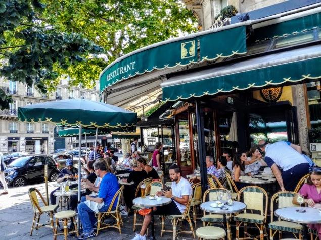 Paris summer times Les deux magots (Photo Fc)