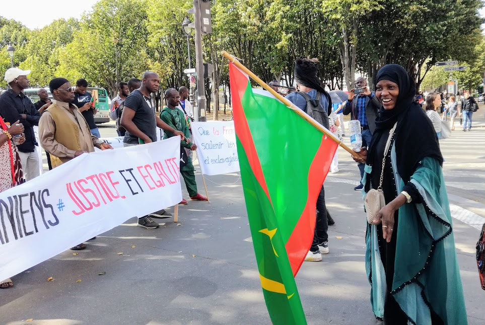 Mauritanian black people call for an end to slavery (Photo FC)