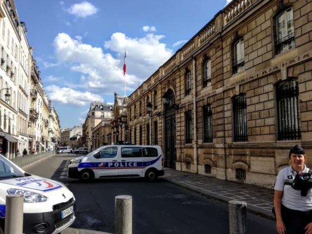 Paris summer times rue du Fg ST-Honoré (Photo FC)