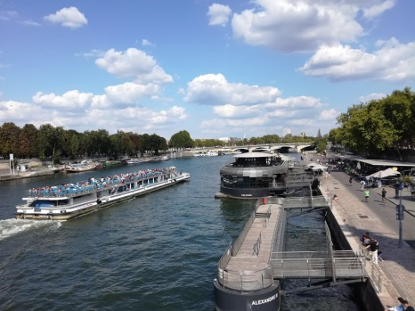 Paris summer times sous le pont Alexandre 3 (Photo FC)