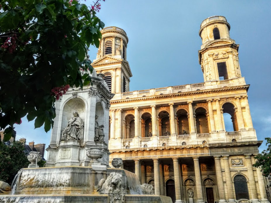 Eglise Saint-Sulpice is the largest church in Paris after Notre Dame (Photo FC)