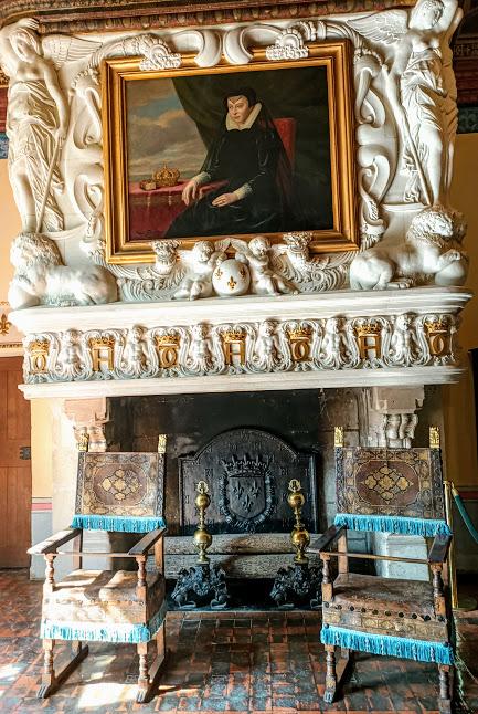 Chenonceau chambre de Diane de Poitiers cheminée (Photo FC)