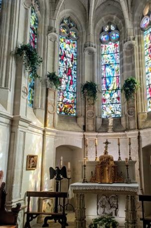 Chenonceau chapelle autel (Photo FC)