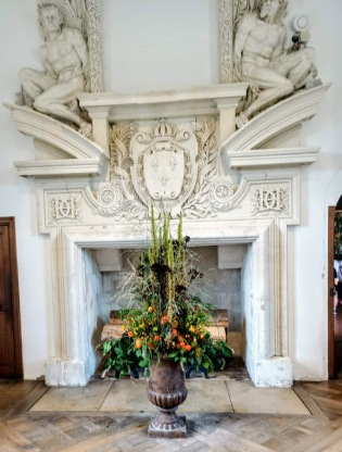 Chenonceau cheminée galerie du Ier étage (Photo FC)