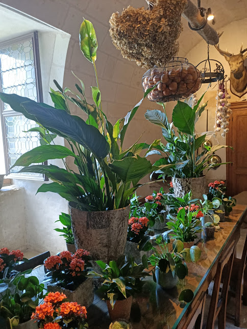 Chenonceau cuisine déco florale (Photo FC)