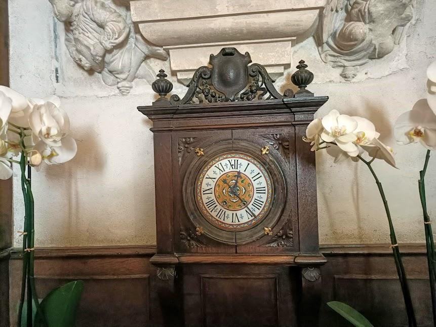 Chenonceau cuisine horloge (Photo FC)