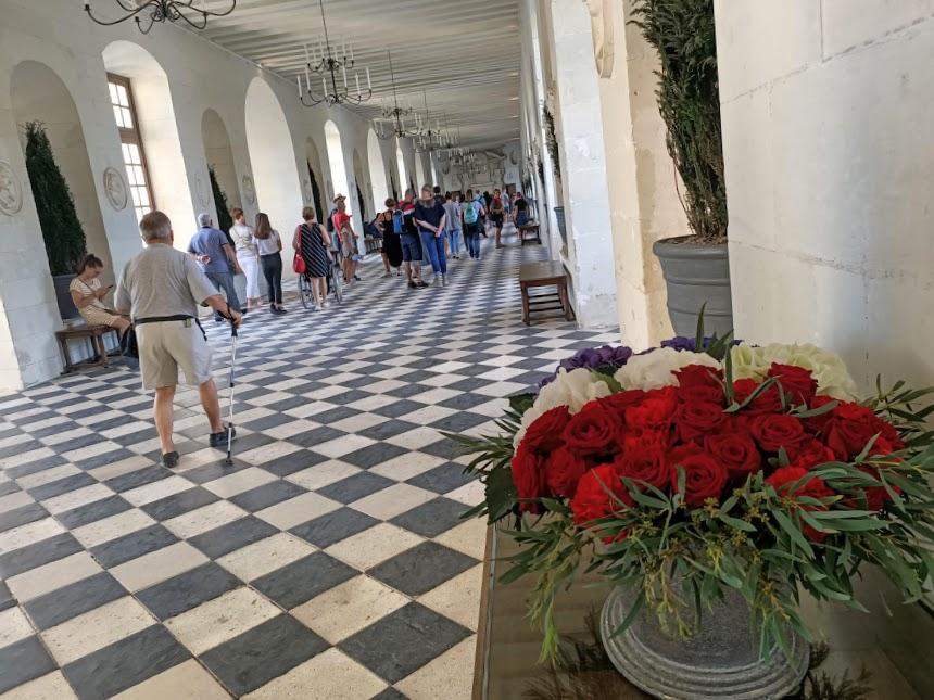 Chenonceau galerie basse et bouquet (Photo FC)