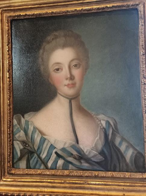 Louise Dupin (1706 - 1799), aïeule par alliance de George Sand, fut la propriétaire de Chenonceau au XVIIIème siècle. Protectrice des Encyclopédistes, elle y reçut Voltaire, Rousseau, Montesquieu, Diderot, d'Alembert, Fontenelle et Bernardin de Saint-Pierre (Photo FC)