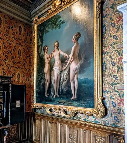 Chenonceau salon de François Ier Tableau (Photo FC)