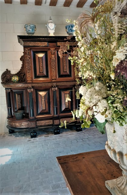 L'apothicairerie de Catherine de Médicis reconstituée aux Dômes à Chenonceau, à l'endroit même où elle se situait au XVIe siècle (Photos FC)