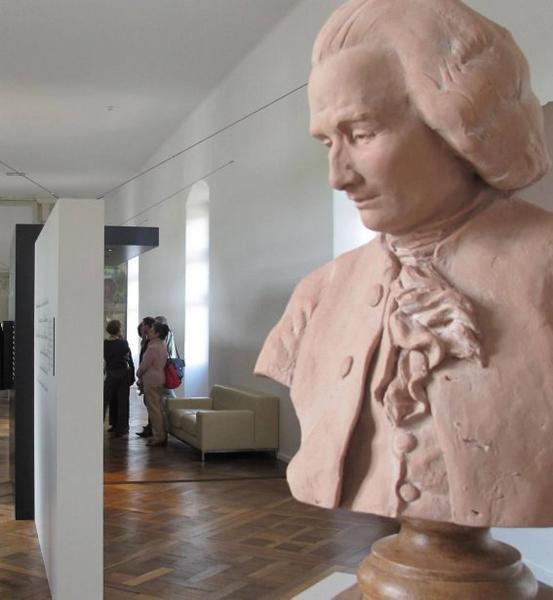 En 2012, le château de Chenonceau pour le tricentenaire de la naissance de Jean-Jacques Rousseau (né en 1712) organisait une exposition sur le philosophe, le scientifique et le musicien© (Photo NR/Ivan Roullet)