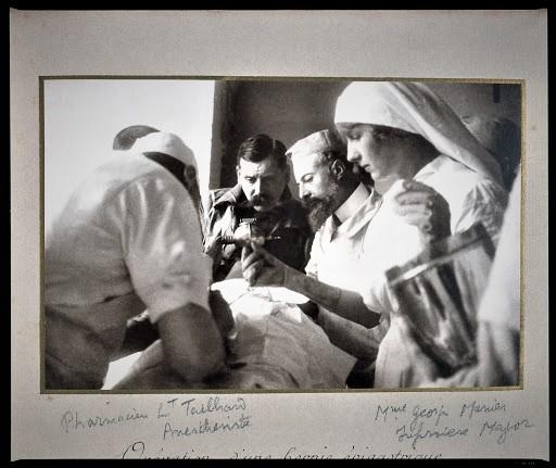 Chenonceau Simone Menier hôpital militaire 1